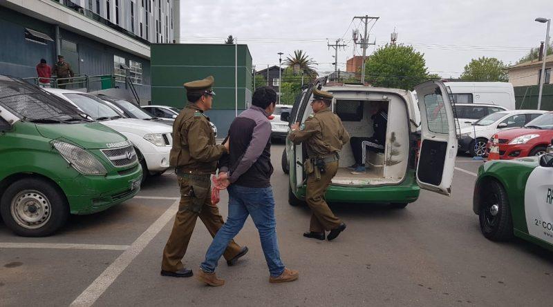 Carabineros detuvo a dos sujetos implicados en robo a bodega en Chillán
