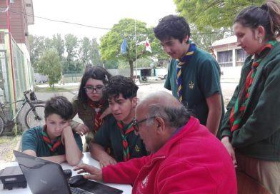 Boy Scouts de Ñuble se reunieron en San Carlos para participar del Jamboree en el Aire