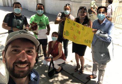 Concejal recorrió 450 km. en bicicleta para entregar carta contra embalse Zapallar en La Moneda